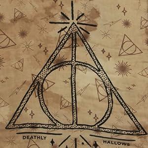 Harry Potter Iconic Symbols Print Neck Scarf