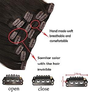 clip hair extehnsion