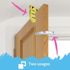 child safety door stopper