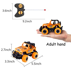 RC Cars for 4-5 Year Old Boys Toys