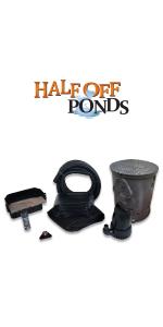 fountain garden filter outdoor spillway koi fish pondless box mini pumps vault basin fall liners