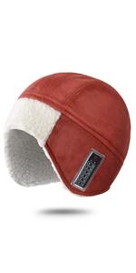 Sherpa fleece winter hat