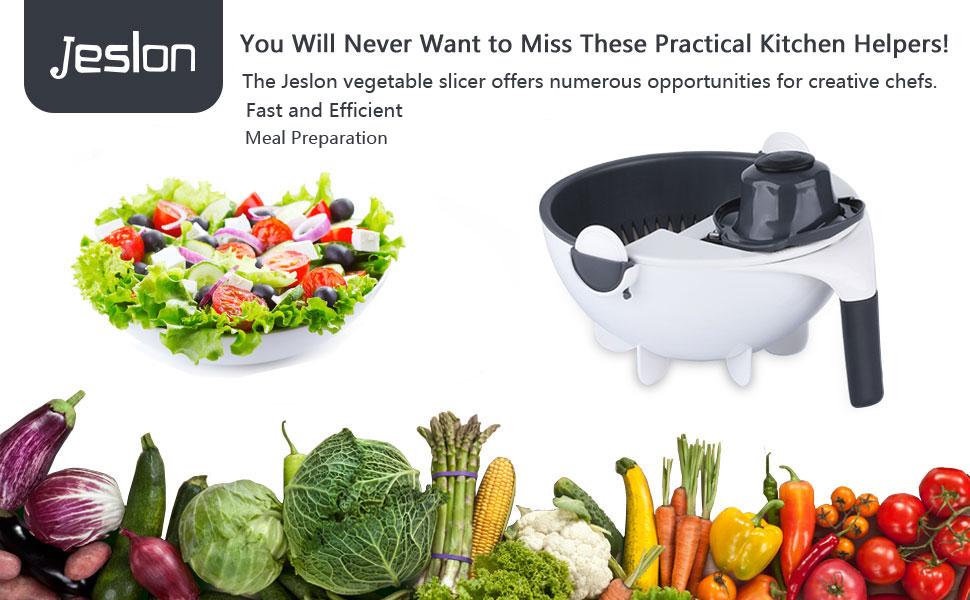 Jeslon vegetable cutter