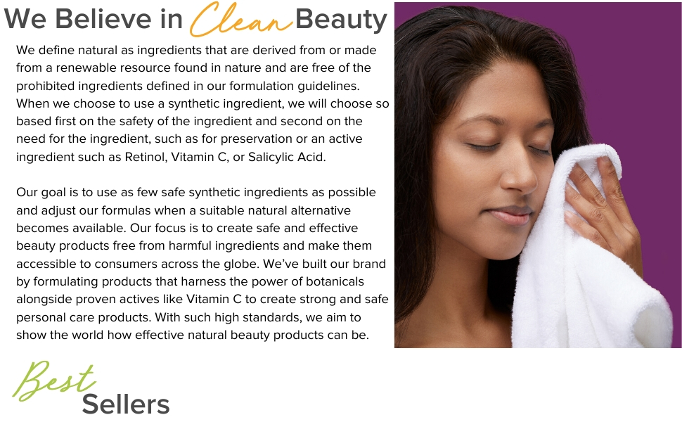 We Believe in Clean Beauty