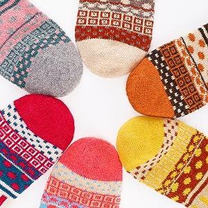 calzini da donna colorati