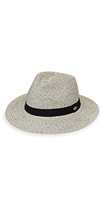 wallaroo hat company womens charlie fedora serious sun protection