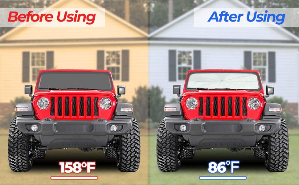 keep your wrangler cool for summer