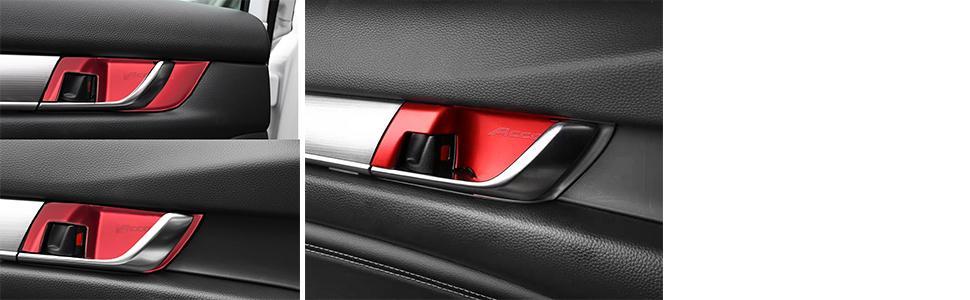 for Honda Accord 2018 2019 ABS Car Interior Door Handle Bowl Cover Trim Decor