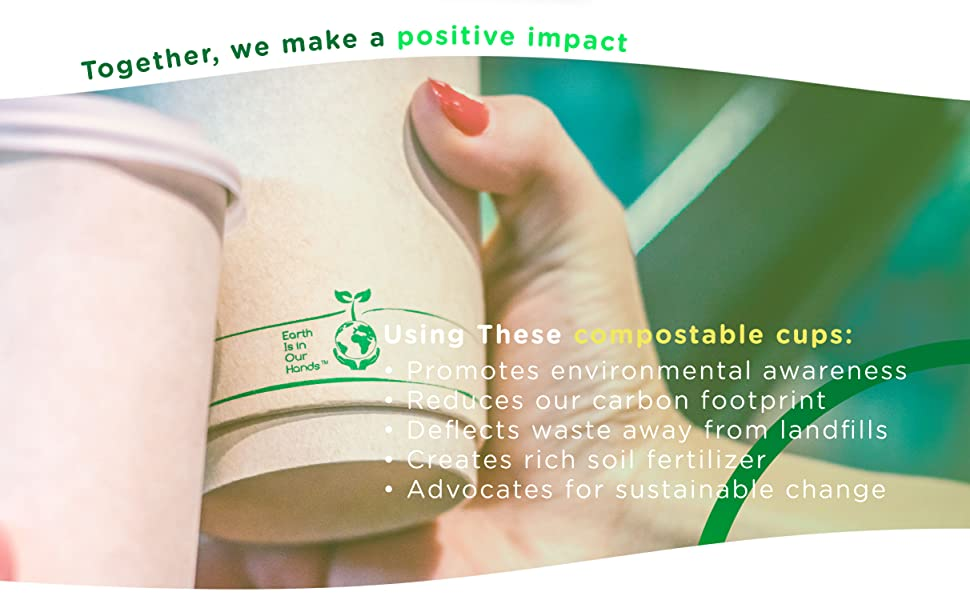 certified our product: they are 100% compostable, plant-based