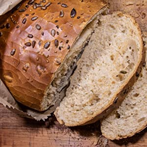 bread sunflower seed spread baked yeast homemade