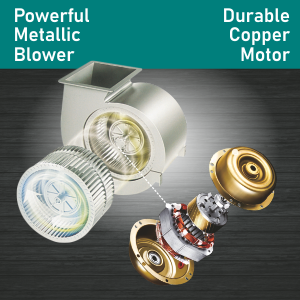 Powerful Metallic Blower and Copper Motor