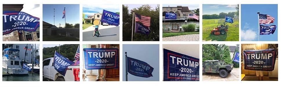 TRUMP FLAG OUT DOOR FLAG FOR TRUMP 2020 PRESIDENTIAL ELECTION FLAG 3X5 FLAG FOR DONALD TRUMP USA