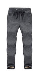 Fleece Pants Sherpa Lined Sweatpants