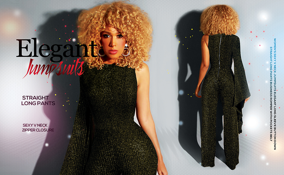 sparkly jumpsuits for women