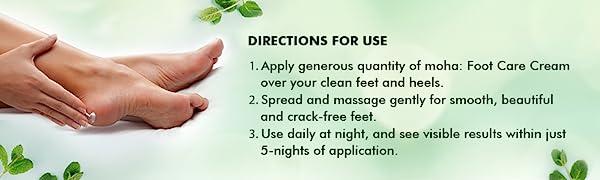 moha: foot care cream