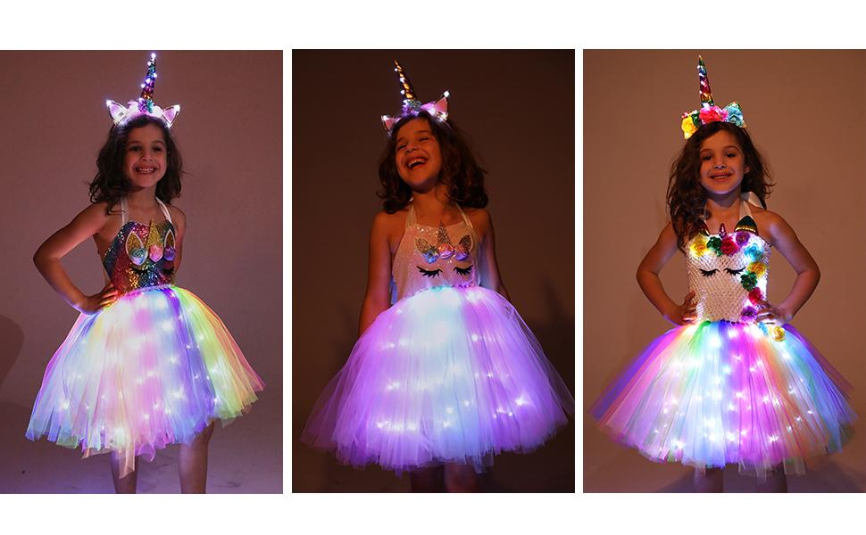 halloween costumes for little girls unicorn dress