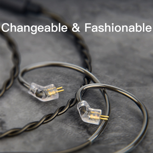0.78MM 2-Pin Interchangeable Cable Design