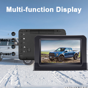 back up camera monitor