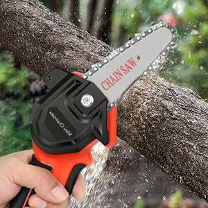 4 inches mini chainsaw