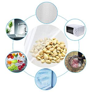 3 Rollen 28x600cm Vakuumrollen Profi Vakuumierbeutel f/ür alle Vakuumierger/äte Wiederverwendbar BPA-Frei WonderTech Vakuumierfolie