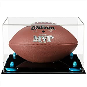 Better Acrylic Display Case Showcase Regulation Football Protect NFL Collectible Sports Memorabilia
