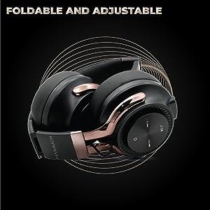 headphones over the head