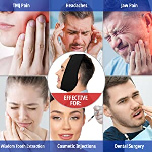 face ice pack wisdom teeth ice pack head wrap face heating pad ice pack for face tmj pad jaw bra
