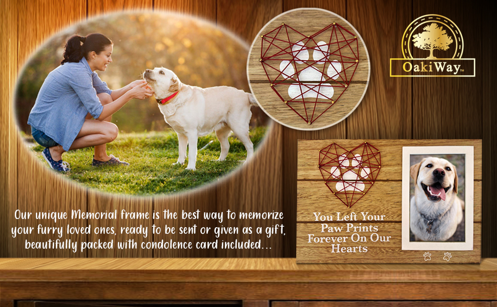 Pet memorial gifts OakiWay
