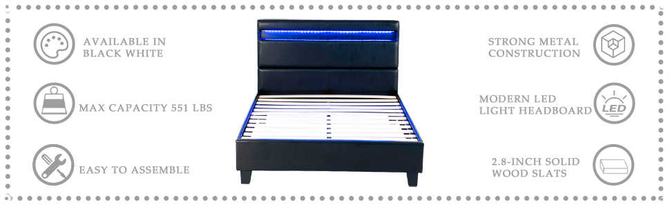 mecor led bed
