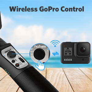 wireless control Gimbal Stabilizer 3 axis for GoPro Action Camera Handheld Pro Gimbal