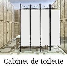 Cabinent de toilette