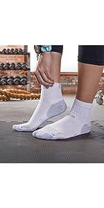 rgear drymax quarter running socks