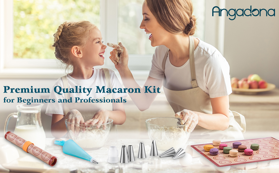 Premium Quality Macaron Kit for Beginners and Professionals,Gift Giving Made Easy
