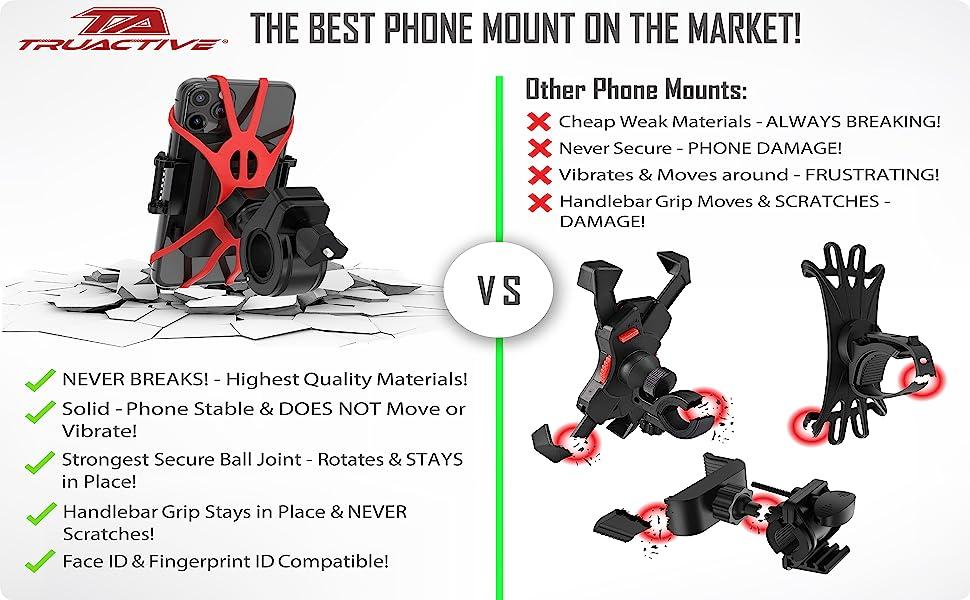 motorcycle phone mount bike phone mount ram mount atv accessories phone holder for bike