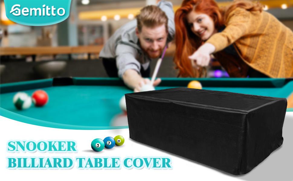 snooker table cover waterproof