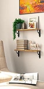 wood floating shelves for wall tv shelf small bookshelf book shelves for wall living room shelves