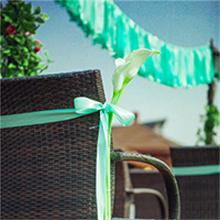 hanging garlands decorations