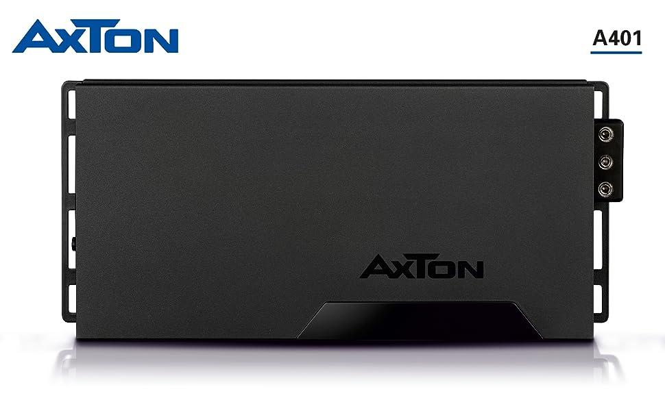 AXTON A401: Leistungsstarker 4-Kanal Digital Verstärker fürs Auto
