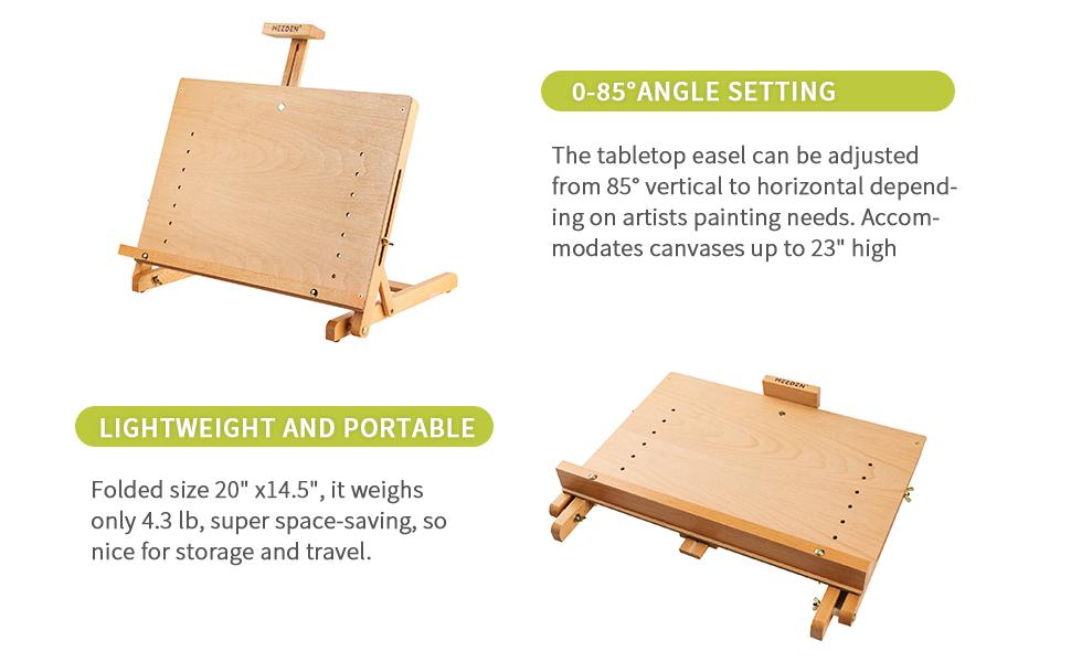 Tabletop Sketchbox Easel