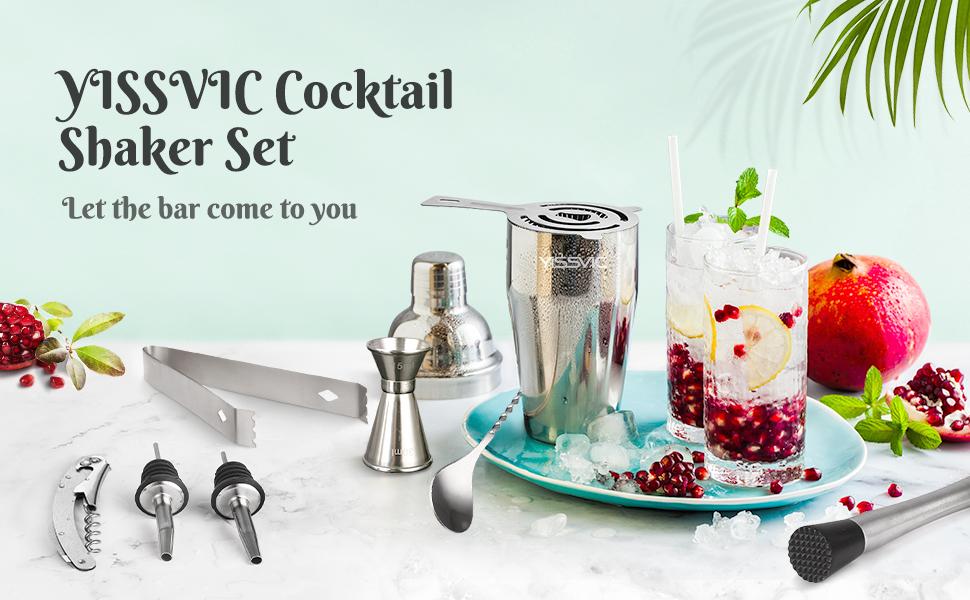 Yissvic Cocktail Shaker Set