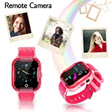 kids touchscreen watch with camera girls gift play game math boys back to school gift
