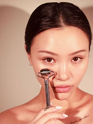 Sacheu stainless steel beauty roller