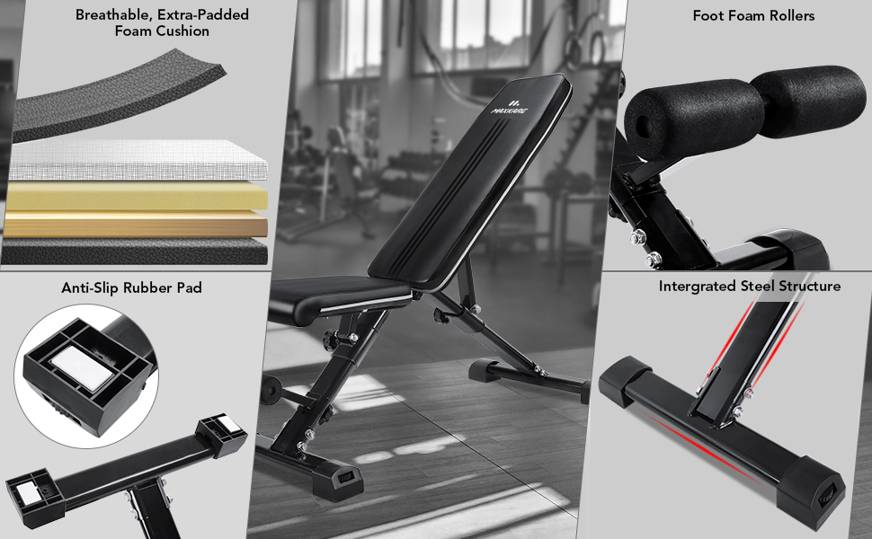 home gym equipment details exercise adjustable bench situp sit up ab workout station bench flat