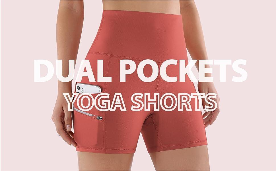 ododos yoga shorts