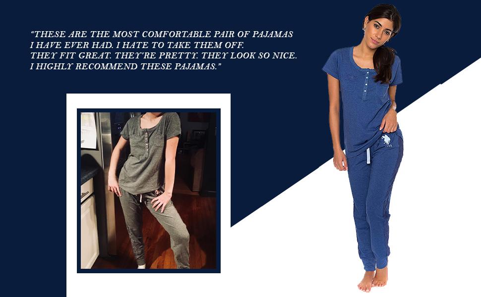 us polo pajama set women multicolor fashion comfy comfortable