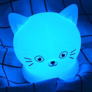Veilleuse Chambre Lampe Veilleuse Bébé Rechargeable à Distance Veilleuse Légère 9 Couleurs