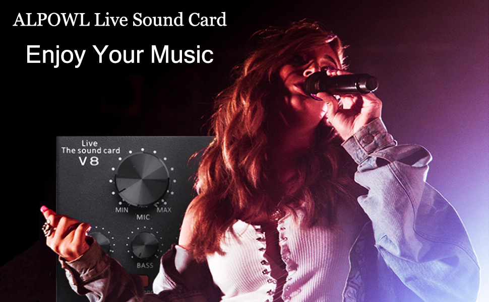 ALPOWL LIVE SOUND CARD