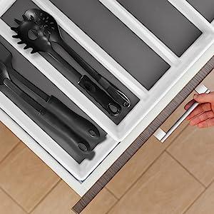 knives camper simple human forks compartment slots black dial industries bw utelsil granite flatware