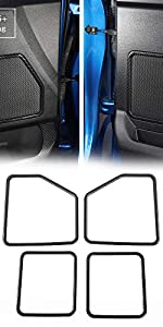 Door Loudspeaker Speaker Decoration Frame Cover Trim for Ford F150 2015-2017