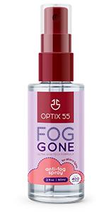 Anti Fog spray for AR Lenses